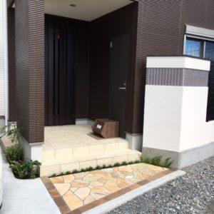 富士市 S様邸外構工事 完成しました